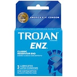 Trojan-Enz Enz Lubricated Premium Latex Condoms