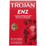 Trojan Enz Non-Lubricated Premium Latex Condoms