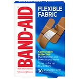 Band-Aid Flexible Fabric Adhesive BandagesAssorted