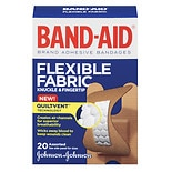 Band-Aid Flexible Fabric Adhesive Bandages Knuckle & Fingertip