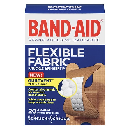 Band-Aid Flexible Fabric Adhesive Bandages