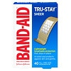 Band-Aid Sheer Comfort-Flex Sheer All One Size Adhesive Bandages