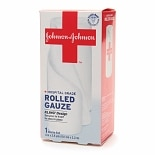 Johnson & Johnson Hospital Grade Rolled Gauze 4 in. x 2.5 yds