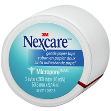 Nexcare First Aid Tape, Micropore Paper 2 in. x 360 in.