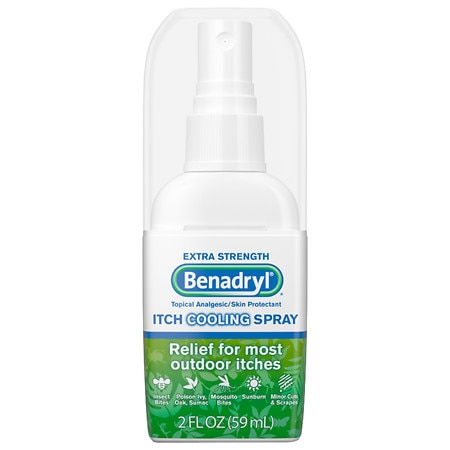 Benadryl Itch Relief Spray