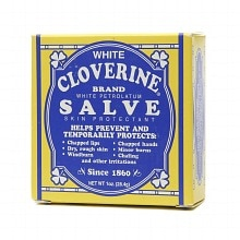 White Cloverine White Petrolatum Salve