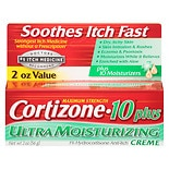 Cortizone 10 Maximum Strength Hydrocortisone Anti-Itch Cream Plus 10 Moisturizers