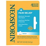 Neosporin + First Aid Antibiotic/Pain Relieving Cream Maximum Strength