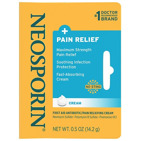 Neosporin + First Aid Antibiotic/Pain Relieving Cream