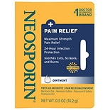 Neosporin + First Aid Antibiotic/Pain Relieving Ointment