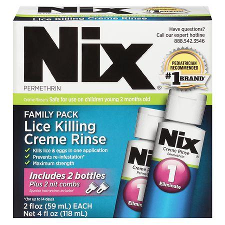 Nix Lice Treatment 2 Pack Walgreens