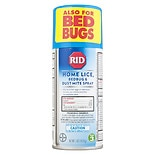 RID Step 3 Home Lice, Bedbug & Dust Mite Spray