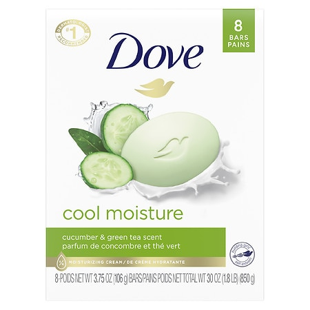 Dove go fresh Beauty Bar Cool Moisture,8 pk