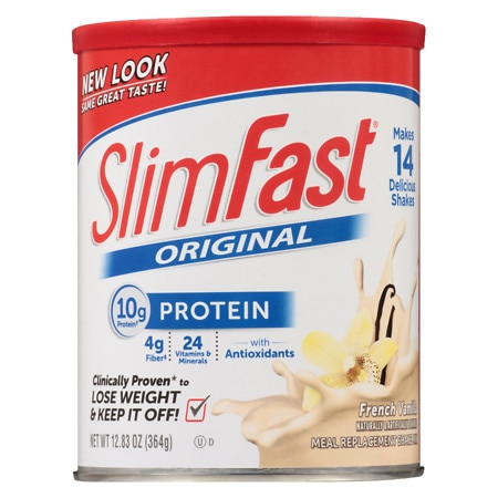 Slim-Fast Shake Mix Powder French Vanilla
