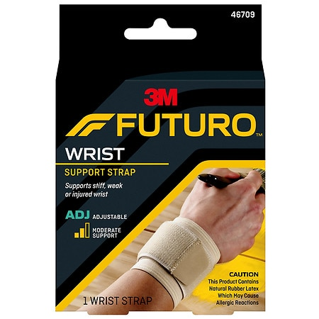 FUTURO Wrap Around Wrist Support, Adjust to Fit