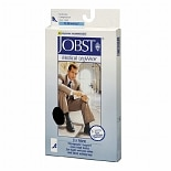 Jobst Medical LegWear for Men Men's Knee High Socks (Moderate) 15-20 mm Black