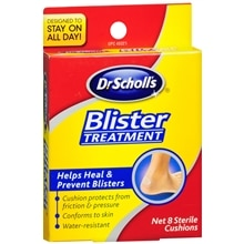 Dr. Scholl's Blister Treatment, Sterile Cushions