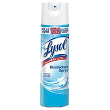 Lysol Disinfectant Spray Linen