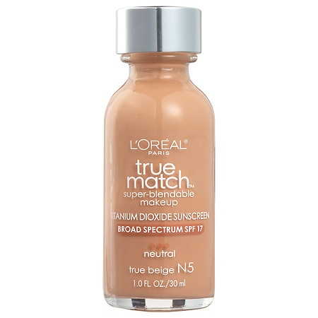 L'Oreal Paris True Match Super-Blendable Liquid Makeup SPF 17