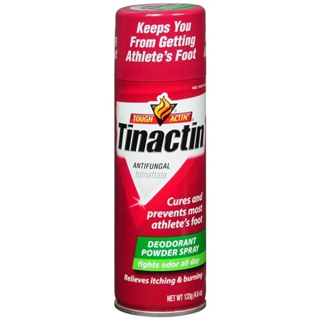 Tinactin Antifungal Deodorant Powder Spray