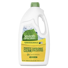 Seventh Generation Automatic Dishwasher Gel Lemon