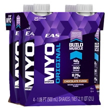 EAS Myoplex Original Protein Supplement Shakes Chocolate Fudge