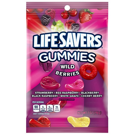 LifeSavers Gummies Candy Wild Berries