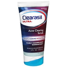 Clearasil Ultra Acne Medication Rapid Action Face Scrub