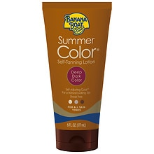 Banana Boat Sunless Summer Color Self Tanning Lotion, Deep Dark Deep Dark
