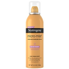 Micro-Mist Airbrush Sunless Tan Spray, Medium