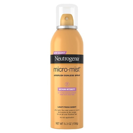 Neutrogena Micro-Mist Airbrush Sunless Tan Spray Medium