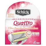 Schick Quattro For Women Quattro For Women Ultra Smooth Shaving Cartridges