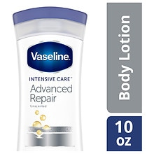Vaseline Intensive Rescue Intensive Care Advanced Repair Non-Greasy Lotion Fragrance Free