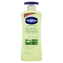 Vaseline Intensive Care Aloe Soothe Non-Greasy Lotion Aloe Fresh