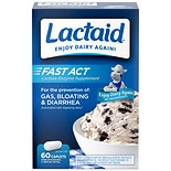 Lactaid Fast Act Fast Act Lactase Enzyme Supplement Caplets