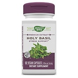 Nature's Way Holy Basil Dietary Supplement Vegetarian Vcaps