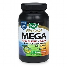 Maximum Strength Mega 3/6/9 Omega Blend 1350 mg Dietary Supplement Softgels