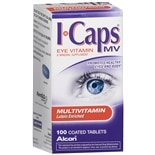 ICaps MV Multivitamin Eye Vitamin & Mineral Supplement Coated Tablets