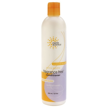Earth Science Conditioner For Sensitive Hair & Scalp Fragrance Free