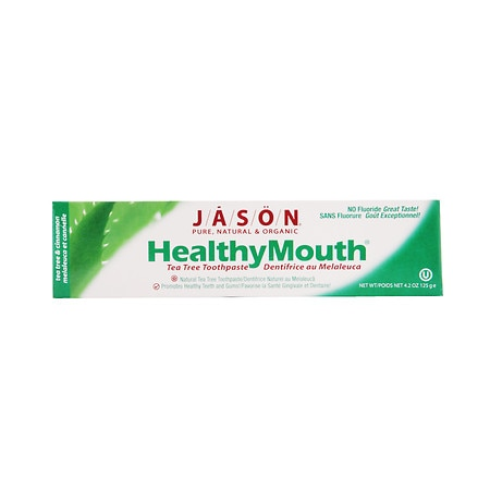 Jason Natural Cosmetics Healthy Mouth Toothpaste Tea Tree & Cinnamon