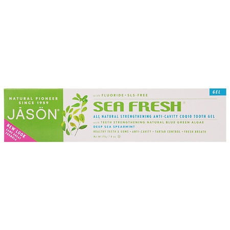 JASON Sea Fresh All-Natural Tooth Gel Deepsea Spearmint