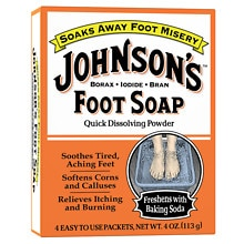 Foot Soap, Packets