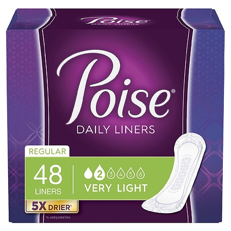 Poise Liners Regular Regular Length