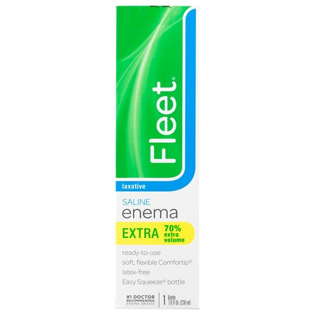 Fleet Extra Cleansing & Relief Enema