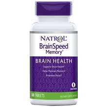 Brain Speed Memory Dietary Supplement Tablets