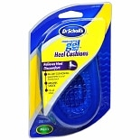 Dr. Scholl's Massaging Gel Heel Cushions Black