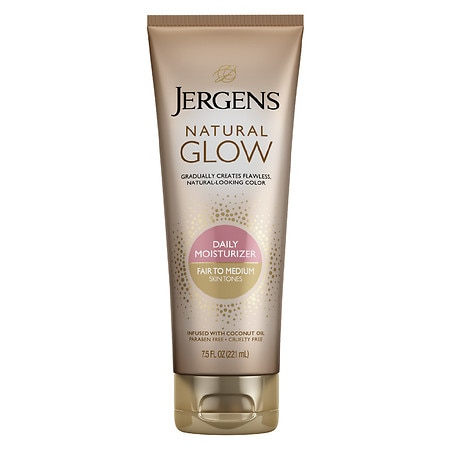 Jergens Natural Glow Revitalizing Daily Moisturizer Fair to Medium Skin Tone