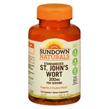 St. John's Wort 300 mg Herbal Supplement Capsules