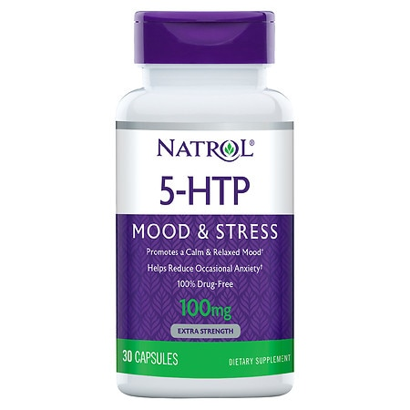 Natrol 5-HTP 100 mg Double Strength Capsules