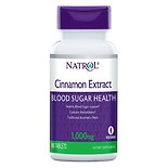 Natrol Cinnamon Extract 1000 mg Per Serving Dietary Supplement Tablets